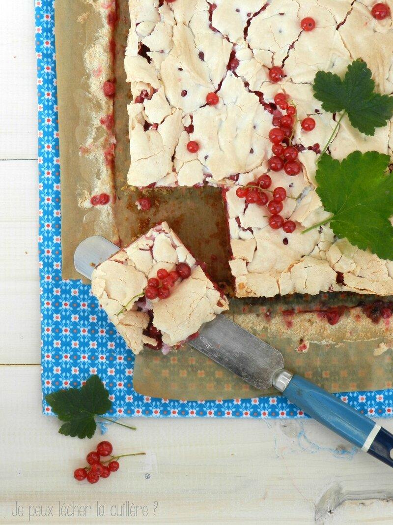 Gâteau meringué aux groseilles3