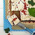 Le gâteau meringué aux groseilles