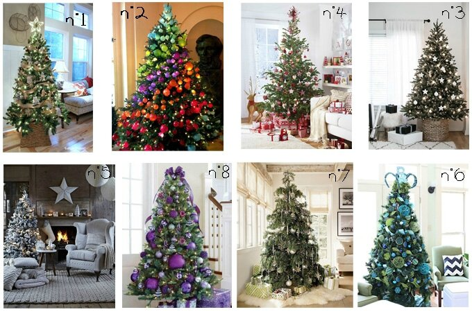 Sapins noel traditionnels