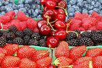 barquettes fruits rouges