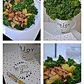 Kale sauté, pommes de terre rôties et petits lardons1