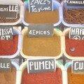 Boutique d'épices : couleurs senteurs